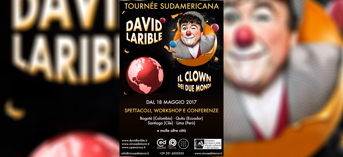 David Larible il clown dei due mondi